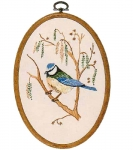 Design Perfection Freestyle Embroidery Kit - Blue Tit