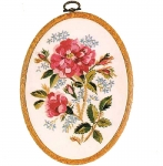 Design Perfection Freestyle Embroidery Kit - Old Moss Rose