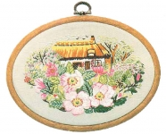 Design Perfection Freestyle Embroidery Kit - Rose Cottage