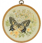 Design Perfection Freestyle Embroidery Kit - Swallowtail Butterfly