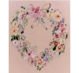 Design Perfection Freestyle Embroidery Kit - Floral Heart