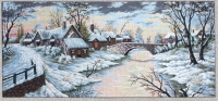 Diamant Printed Tapestry/Needlepoint - Winter Landscape
