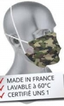 Face Mask - Adult Camouflage.
