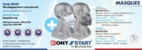 Face Masks - Adult Grey