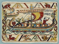 Glorafilia Bayeux Needlepoint/Tapestry Kit - Invasion