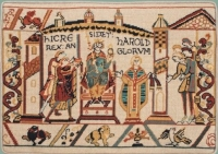 Glorafilia Bayeux Needlepoint/Tapestry Kit - The Coronation of Harold