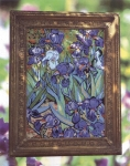 Glorafilia Needlepoint/Tapestry Kit - Irises