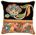 Glorafilia Needlepoint/Tapestry Kit - Persian Flowers Red