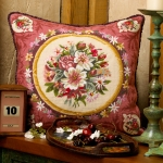 Glorafilia Tapestry/Needlepoint Kit - Abussion Flowers