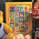 Glorafilia Tapestry/Needlepoint Kit - Alphabet