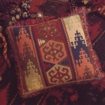 Glorafilia Tapestry/Needlepoint Kit - Kelim - Terracotta
