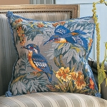 Glorafilia Tapestry/Needlepoint Kit - Kingfishers