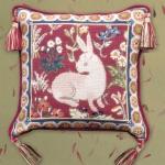 Glorafilia Tapestry/Needlepoint Kit - Medieval Rabbit