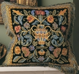 Glorafilia Tapestry/Needlepoint Kit - Renaissance Cushion
