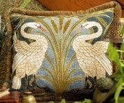 Glorafilia Tapestry/Needlepoint Kit - Swans Cushion