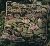 Glorafilia Tapestry/Needlepoint Kit - Waterlilies