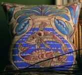 Glorafilia Tapestry/Needlepoint Kit - William de Morgan - Fish