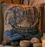 Glorafilia Tapestry/Needlepoint Kit - William de Morgan - Galleon