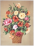 Gobelin L  Printed Tapestry - Summer Basket