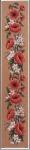 Gobelin L Printed Tapestry - Poppy Bell Pull