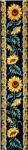 Gobelin L Printed Tapestry - Sunflower Bell Pull