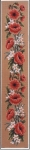 Gobelin L Printed Tapestry Canvas - Poppy Bell Pull