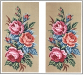 Gobelin L Printed Tapestry/Needlepoint - Roses