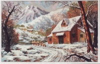 Gobelin L Tapestry/Needlepoint – Alpine Chalet