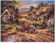 Gobelin L Tapestry/Needlepoint - Back to the Farm