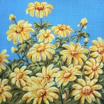 Gobelin L Tapestry/Needlepoint - Floral Cushion Front