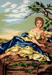 Gobelin L Tapestry/Needlepoint Canvas - Lazy Summer