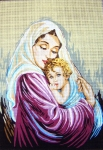 Gobelin L Tapestry/Needlepoint - Madonna and Child