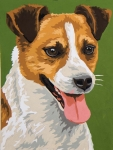Grafitec Printed Tapestry/Needlepoint – Jack Russell Terrier