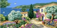 Grafitec Printed Tapestry/Needlepoint – La Provence