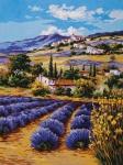 Grafitec Printed Tapestry/Needlepoint – Lavender Fields