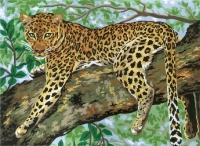 Grafitec Printed Tapestry/Needlepoint – Lazing Leopard