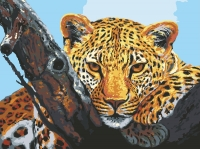 Grafitec Printed Tapestry/Needlepoint – Leopard Look
