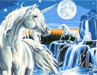 Grafitec Printed Tapestry/Needlepoint – Magical Unicorn