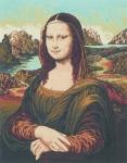 Grafitec Printed Tapestry/Needlepoint – Mona Lisa (Da Vinci)