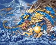 Grafitec Printed Tapestry/Needlepoint – Mythical Dragon