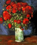 Grafitec Printed Tapestry/Needlepoint – Red Poppies after van Gogh