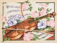 Grafitec Printed Tapestry/Needlepoint – Springtime Concerto