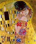 Grafitec Printed Tapestry/Needlepoint – The Kiss (Le baiser) by G. Klimt