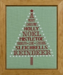 HS Counted Cross Stitch Sampler Kit – A Very Merry Christmas