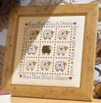 HS Counted Cross Stitch Sampler Kit – Baa Baa Black Sheep