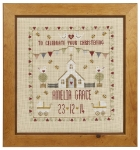 HS Counted Cross Stitch Sampler Kit – Christening Sampler