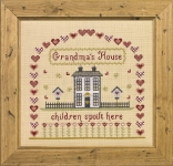 HS Counted Cross Stitch Sampler Kit – Grandma's House