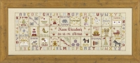 HS Counted Cross Stitch Sampler Kit – Just for a Girl Birth Record