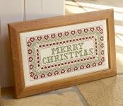 HS Counted Cross Stitch Sampler Kit – Merry Christmas Sampler