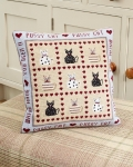 HS Needlepoint/Tapestry Sampler Cushion Kit – Pussy Cat Pussy Cat